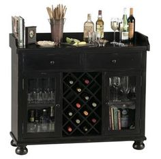 This mini-bar is perfect. Holds glasses, bottles, and everything to make a drink! Get yours at Ossian Furniture today.