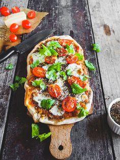 Za'atar Pizza Margarita