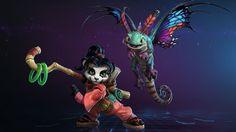Download Heroes of the Storm Li Li World Wanderer Brightwing Faerie Dragon World of Warcraft Mr  Jack 1920x1080