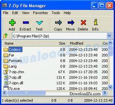 http://www.downloadze.net/7-zip/ ดาวน์โหลดโปรแกรม #7-Zip 9.20 (32/64 bit)