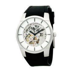 Kenneth Cole New York Men's KC1608 Automatic Black Rubber Strap Watch Kenneth Cole. $89.00
