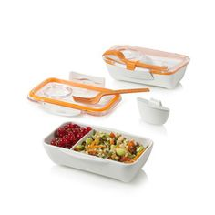 Black + Blum - Bento Box - Orange - RRP $15USD - found @ #Fab