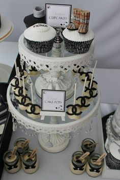 F---K Love...Eat Chanel cupcakes and cake pops:)