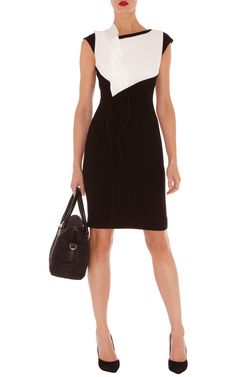 Dresses | Multi Minimal crepe shift dress | KarenMillen Stores Limited #dress…