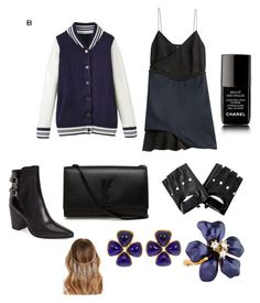 """""""Untitled #15"""" by arshie1171 on Polyvore featuring 3.1 Phillip Lim, Yves Saint Laurent, Kenneth Jay Lane, Forever 21 and Chanel"""