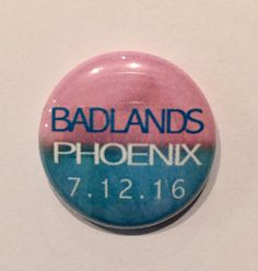 ALL CITIES ARE AVAILABLE Halsey Badlands Tour Buttons | bymissrose on etsy