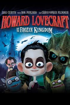 Howard Lovecraft and the Frozen Kingdom Movie Poster - Ron Perlman, Christopher Plummer, Jane Curtin  #HowardLovecraftAndTheFrozenKingdom, #RonPerlman, #ChristopherPlummer, #JaneCurtin, #Unknown, #KidsFamily, #Art, #Film, #Movie, #Poster