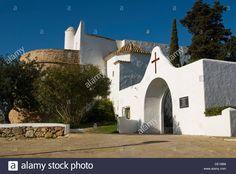Image result for santa eulalia church night view ibiza Ibiza, Santa, Stock Photos, Mansions, Night, House Styles, Image, Home, Manor Houses
