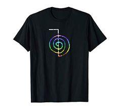 15ad3769 Reiki T-Shirt Reiki Symbol Choku Rei Shirt Chakra colors