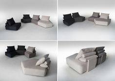 Canapele din stofa MATACAO - Coltare | MobDeco