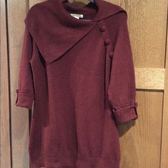 Sweater Dress Cozy sweater dress, perfect with leggings and boots. A. Gianetti Dresses Long Sleeve