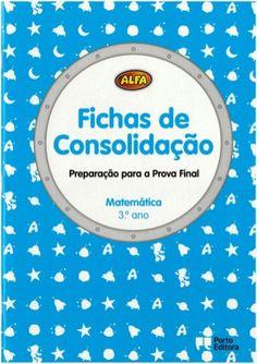 Fichas de consolidação de Matemática 3º ano Alfa