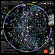 Map of Universe -- star charts poster (click for larger view)