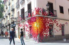 Decoracción 2016 en el Barrio de las Letras de Madrid