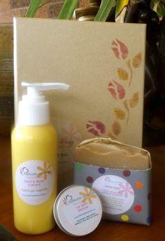 Gift Boxed Set, Vanilla Soap, Vanilla Hand and Body Custard, Natural Lip Balm, Australian made, Etsyau, Australian Seller, Vanilla - pinned by pin4etsy.com