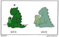 Everything needs time to evolve.  lizclimo.tumblr.com