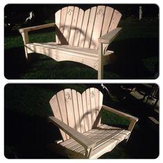 Muskoka Adirondack Chair Bench