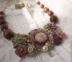 Текстильные украшения Ирины Мацокиной