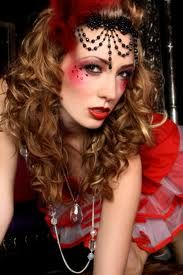 moulin rouge make up