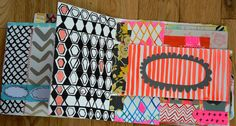 Mary Ann Moss visual journal #patterns #colors