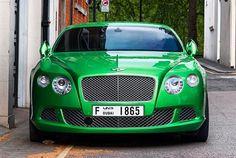 Bentley Continental GT Green Cars, Bentley Motors, Motor Works, Bentley Continental Gt, Driving Force, Super Car, Car Engine, Koenigsegg, Amazing Cars