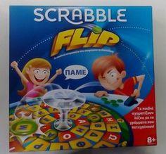Mattel Scrabble Flip (Greek)