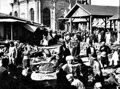 Konya Osmanlı çarşısı.1900lerden  önce  olabilir.