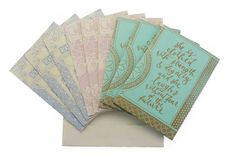 Assorted Handmade Paper Card (Set 4) – Village Artisan Textile Industry In India, She Is Clothed, Handmade Journals, Inspirational Message, Encouragement, Artisan, Messages, Paper, Cards