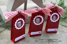 Stampin UP! Candy treats - chocolate Santa's Adventskalender - 1.Dezember Türchen Nr. 1