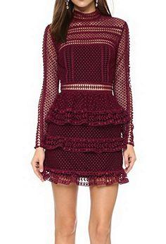 Celebritystyle maroon/black high neck lace mini dress (XS... https://www.amazon.com/dp/B01FZMOQWK/ref=cm_sw_r_pi_dp_x_pUrPxbAMDNWRK