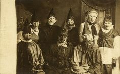 Halloween was scarier 60 years ago. Costumes