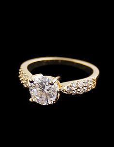 Fashion Gold Diamond Ring 7.60