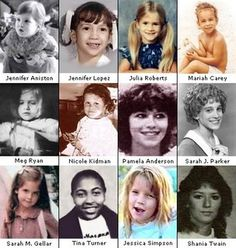 Reflections: Famous Celebrities When They Were Young