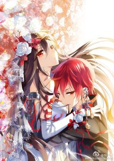 Ara x Elsword (Elsword) Manga Anime, Art Anime, Anime Kunst, Manga Art, Couple Amour Anime, Couple Manga, Anime Love Couple, Kawaii Anime, Manhwa