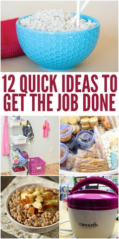 Here are some helpful hacks to complete your to-do list and get it done more efficiently. -One Crazy House