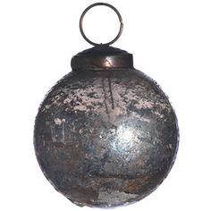 Ornament - Artifact ball -  Smoked luster - 5 cm | Madam Stoltz