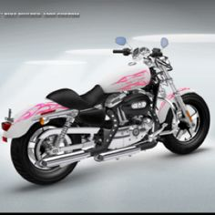 My Harley I wanna build pink-is-my-favorite Harley Bikes, Harley Davidson Motorcycles, Pink Motorcycle, Harley Davison, Hot Rides, Sweet Cars, Lady Biker, Biker Chick, Cool Bikes