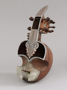 Stringed instrument (sarinda) | V&A Search the Collections