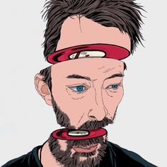 Thom Yorke Art Print by Ryu Hee Ryong | Society6