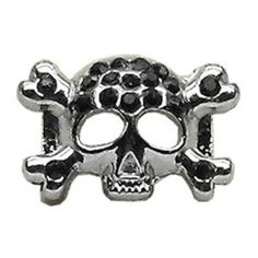 Mirage Pet Products Skull Slider Charm for Pets, 3/8-Inch, Black ** You can find out more details at the link of the image. (This is an affiliate link and I receive a commission for the sales)