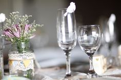 """""""No detail is too small, it's all about the detail"""" Photographer: Splendid Productions Paper Birds, Under Construction, Flute, Champagne, Wedding Decorations, Weddings, Detail, Tableware, Board"""