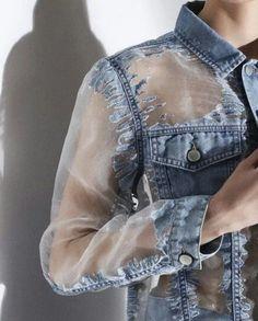 Sheer and denim. 2019 Sheer and denim. The post Sheer and denim. 2019 appeared first on Denim Diy. Denim Fashion, Fashion Outfits, Womens Fashion, Fashion Trends, Fashion Fashion, Korean Fashion, Fashion Tips, Kleidung Design, Mode Jeans