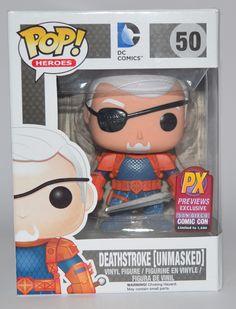 Unmasked DeathStroke SDCC Exclusive Revealed Get more POP! Vinyls here http://popvinyl.net #funko #popvinyl #funko pop #pop vinyls #Deathstroke, #Exclusive, #Sdcc, #Unmasked