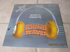 Vintage LP: 1980 Ronco Presents Sound Waves UK Printed; New/Sealed Never Opened