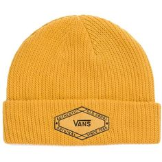 f554f4c480a Vans Clark Beanie ( 22) ❤ liked on Polyvore featuring men s fashion