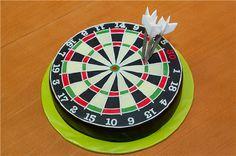 "МК торт ""Дартс"" -Darts cake tutorial - Мастер-классы по украшению тортов Cake Decorating Tutorials (How To's) Tortas Paso a Paso"