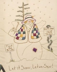 Let It Snow, Let Us Sew