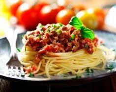 Spaghettis bolognaise maison