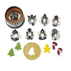 Mini Christmas Cutters - from Lakeland