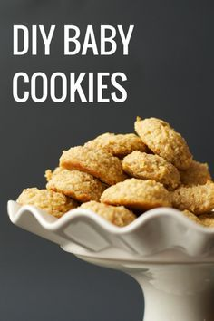 DIY Baby Cookies. Stop buying Baby MumMums... these cookies are much more nourishing!